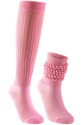 Slouch Socks in Pink