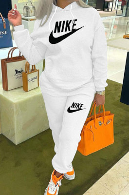 Autumn Winter Newest Printing Long Sleeve Hoodie Sweat Pants Casual Sets SM9210