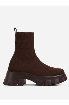 Christina Boots in Coffee