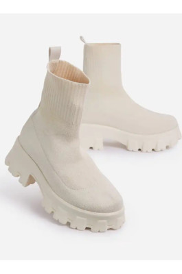 Christina Boots in Creamy