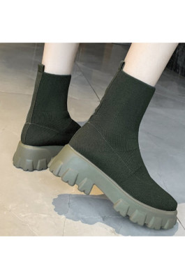Christina Boots in Green
