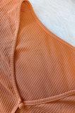 Black Euramerican Women Solid Color Cardigan Button Ribber Irregular Coat Q970-2