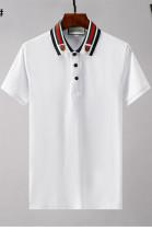 Men's Classic Polo Shirt in White