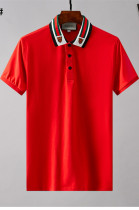 Men's Classic Polo Shirt in Red