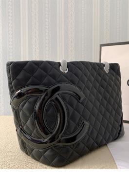 Big Size Leather Shopping Bag