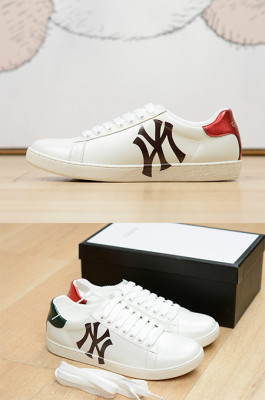 Women's Ace Sneaker with NY Letter