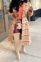 Autumn Winter Women Long Sleeve Cardigan Back Hollow Out Turn-DownCollar Coat LD81048