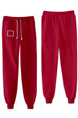 Casual Unisex Sweat Pants TW656949331064-3