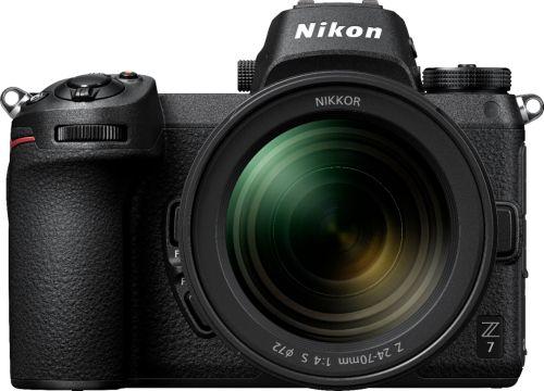 Z7 Mirrorless 4k Video Camera with NIKKOR Z 24-70mm Lens - Black