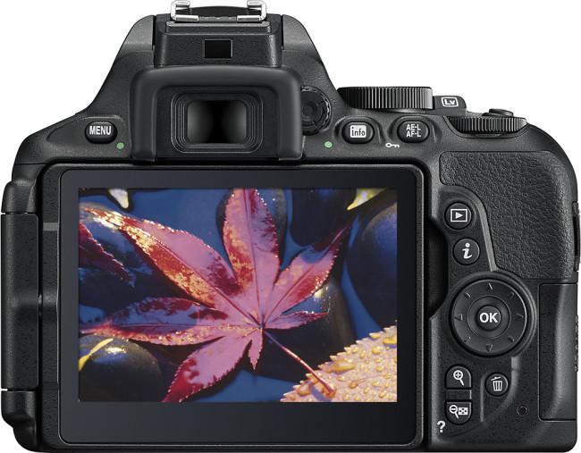 D5600 DSLR Video Camera with AF-S DX NIKKOR 18-140mm f/3.5-5.6G ED VR Lens - Black