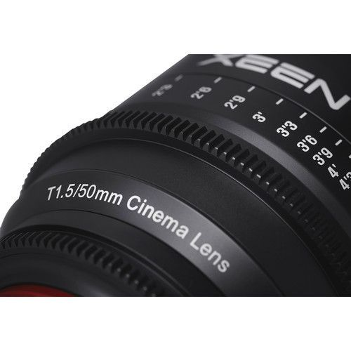 50mm T1.5 Lens for E-Mount