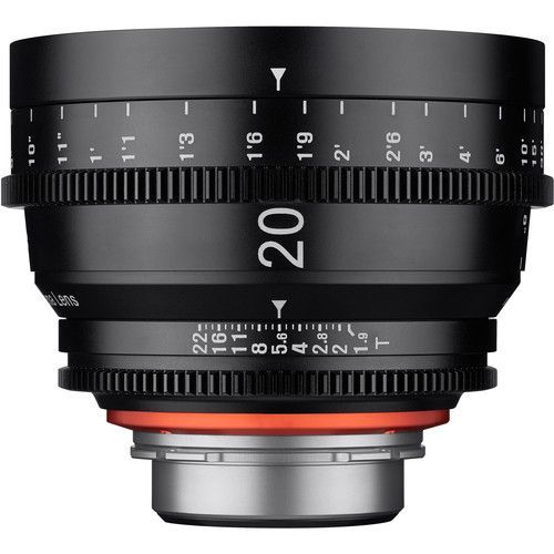 20mm T1.9 Lens with PL Mount