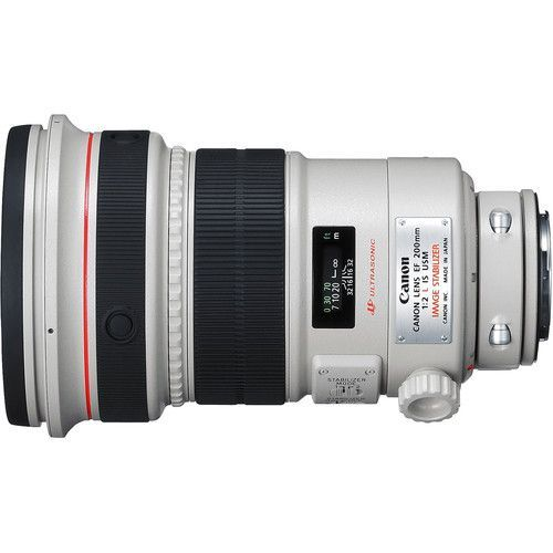 200mm f/2L EF IS USM Lens