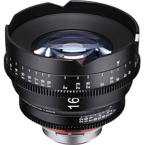 16mm T2.6 Lens for Micro Four Thirds Mount