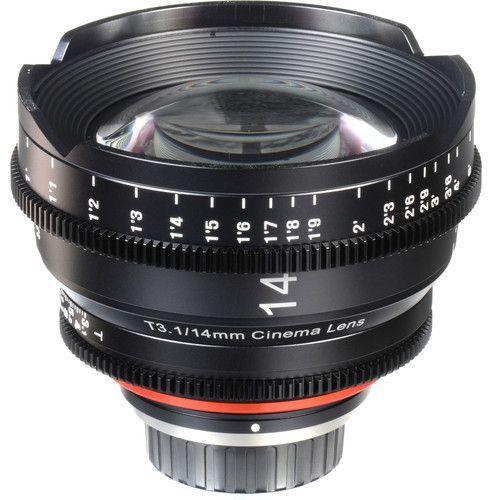 14mm T3.1 Lens for Sony-E Mount