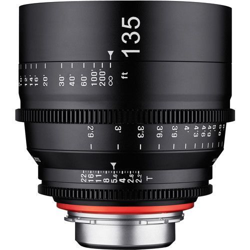135mm T2.2 Lens with EF Mount