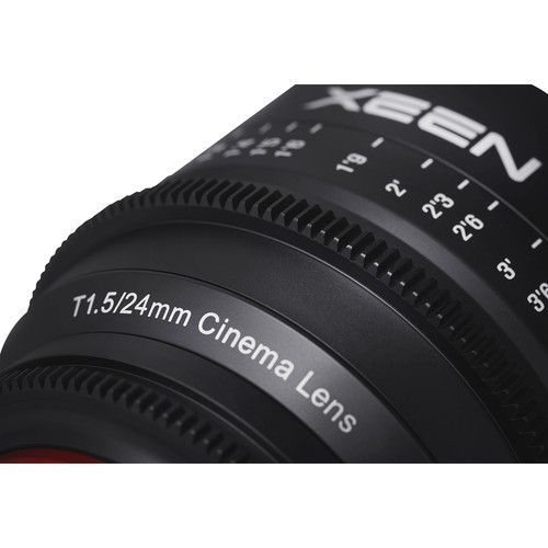 24mm T1.5 Lens for EF Mount