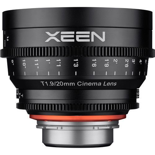 20mm T1.9 Lens with EF Mount