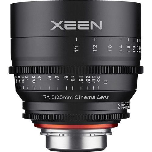 35mm T1.5 Lens for E-Mount
