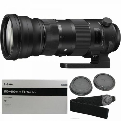150-600mm f/5-6.3 DG OS HSM Sports Lens for F