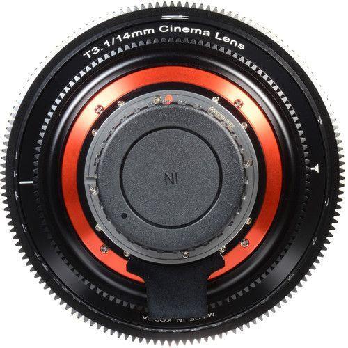 14mm T3.1 Lens for EF Mount