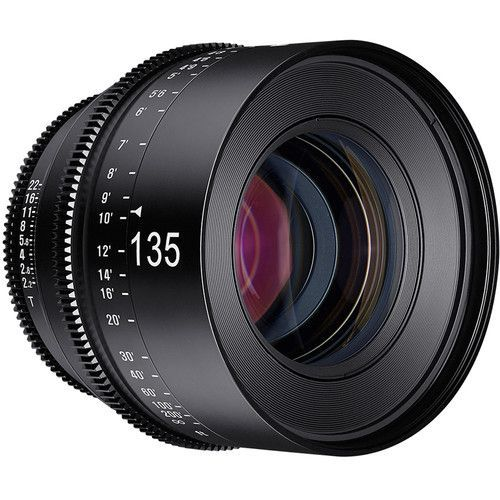 135mm T2.2 Lens with F Mount