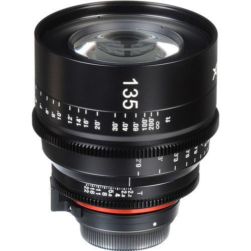 135mm T2.2 Lens with PL Mount