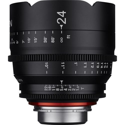 24mm T1.5 Lens for Micro Four Thirds Mount