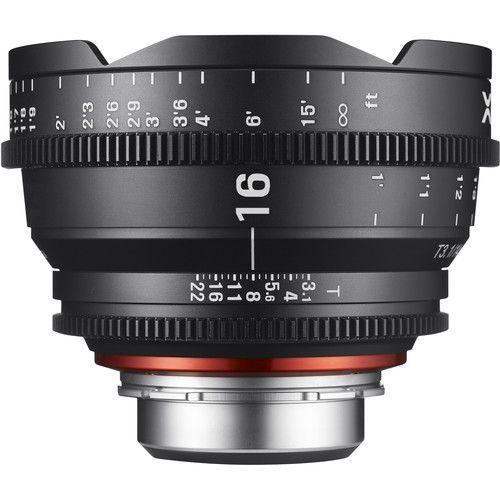 16mm T2.6 Lens for F Mount