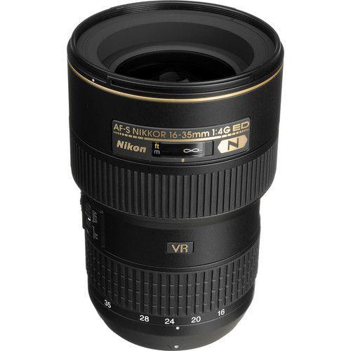 16-35mm f/4G AF-S ED VR Wide Angle Zoom Lens