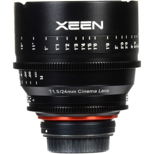 24mm T1.5 Lens for E-Mount