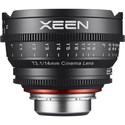 14mm T3.1 Lens for Micro Four Thirds Mount