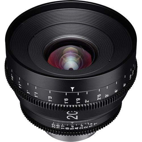 20mm T1.9 Lens with F Mount