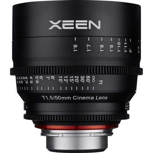 50mm T1.5 Lens for F Mount