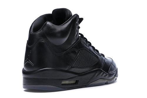 """Air Jordan 5 Premium Pinnacle """"Triple Black"""""""