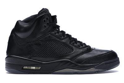 "Air Jordan 5 Premium Pinnacle ""Triple Black"""