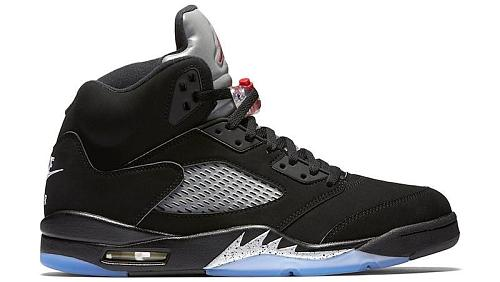Air Jordan 5 Black Metallic 2016
