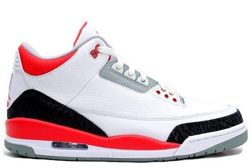 Air Jordan 3 (III) Retro Fire Red
