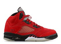 AIR JORDAN 5 RETRO  RAGING BULL RED SUEDE