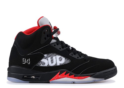 AIR JORDAN 5 RETRO SUPREME  SUPREME