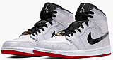 """Jordan Air Jordan 1 Mid """"Fearless Edison Chen - Clot Silk"""""""