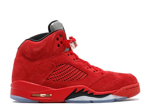 AIR JORDAN 5 RETRO  RED SUEDE