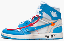 "Air Jordan 1 Retro High ""Off-White - UNC"""