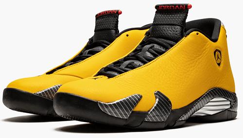 """Air Jordan 14 """"Yellow Ferrari"""""""