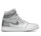 "Air Jordan 1 Retro High OG ""Co.JP - Metallic Silver"""