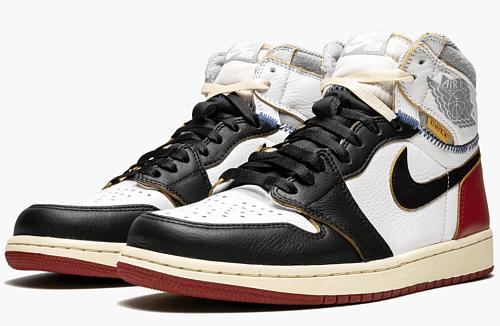 "Air Jordan 1 Retro HI ""Union - Black Toe"""