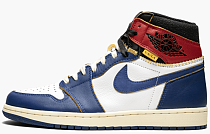 "Air Jordan 1 Retro HI NRG / UN ""Union - Storm Blue"""