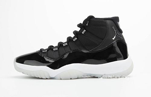 "Air Jordan 11 ""Silver Eyelets"""