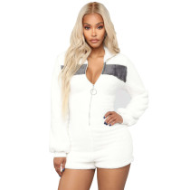Cheap Winter Bodycon Short Jumpsuit For Daily Wear DN8188