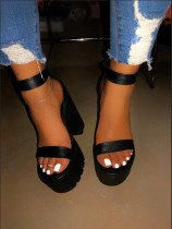 New high heel fashion women's shoes sandals BY9085